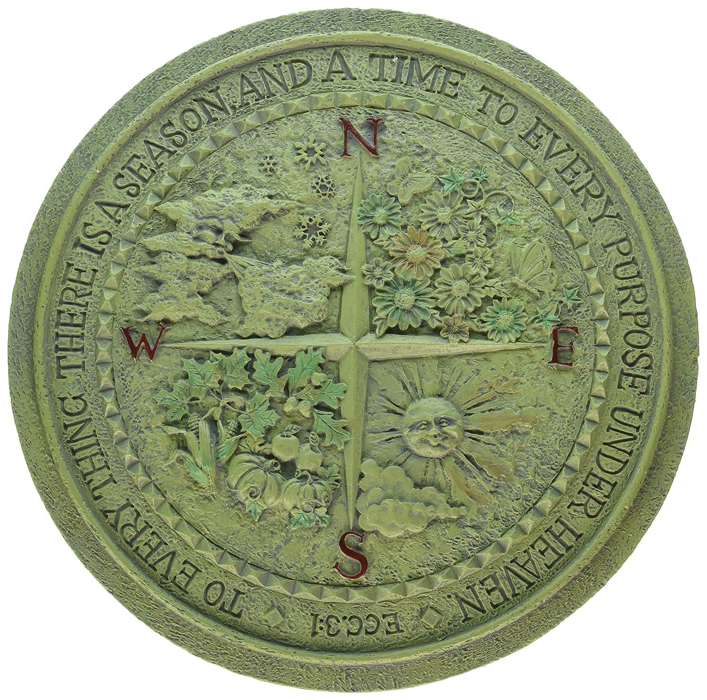 """Roman 12"""" Four Seasons Garden Plaque (40361)"""