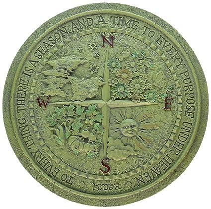 roman 12 four seasons garden plaque - Garden Plaques