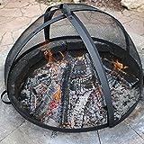 Sunnydaze Easy Access Fire Pit Spark Screen