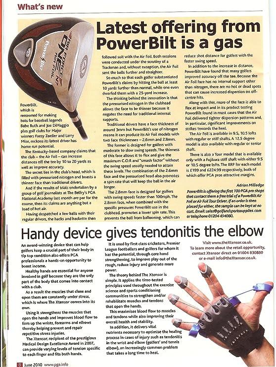 Xtensor Hand Therapy Device Ejercitador de manos, color azul ...