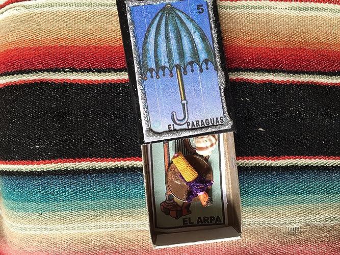 """Matchbox Travel """"Shrine"""" El Paraguas/El Arpa"""