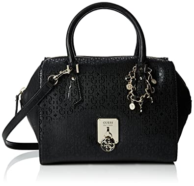 Guess Handbag Rosalind HWSG6113060 Black: Amazon.co.uk: Shoes & Bags