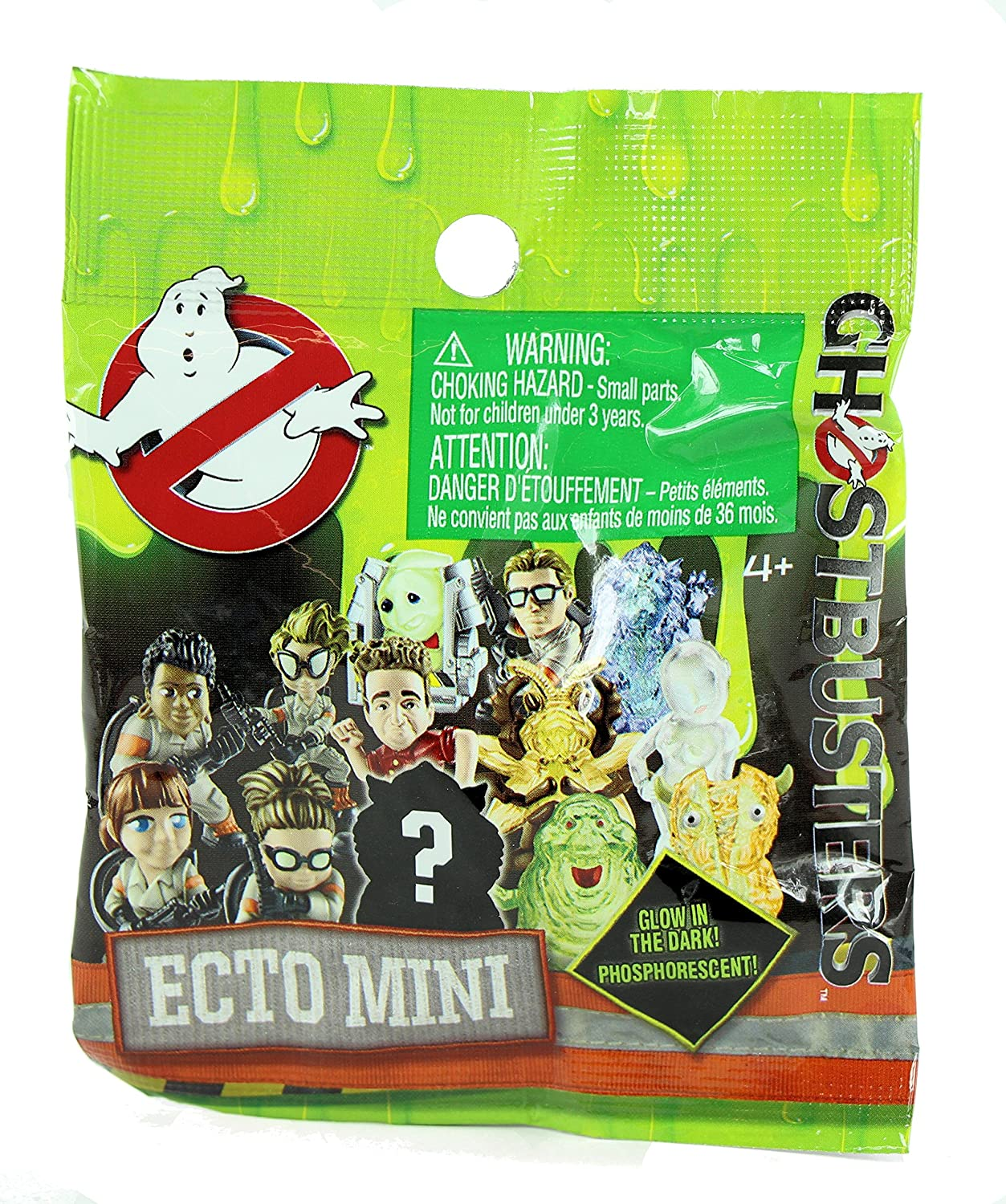 Ghostbusters Glow in the Dark Ecto Minis Figures Mystery Blind Party Bag Pack of 10
