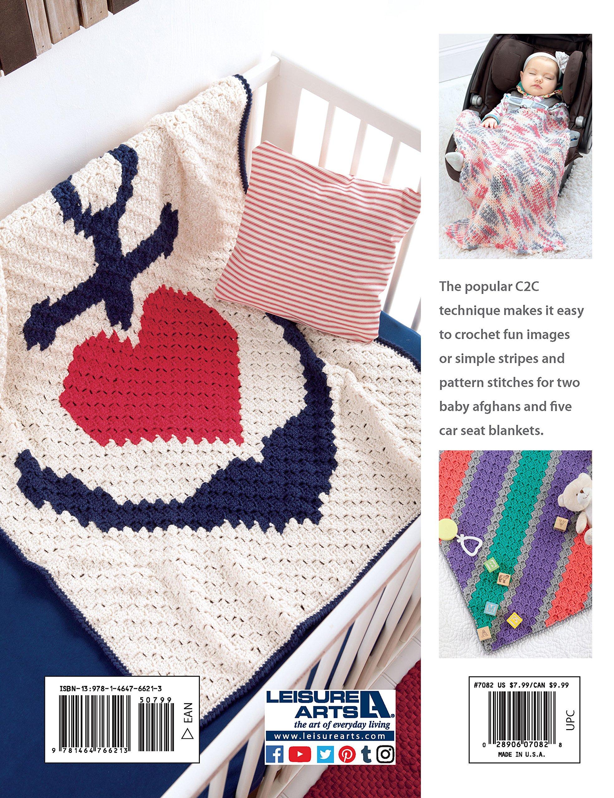 Corner to Corner Baby Afghans   Crochet   Leisure Arts (7082): Becky  Stevens: 0028906070828: Amazon.com: Books