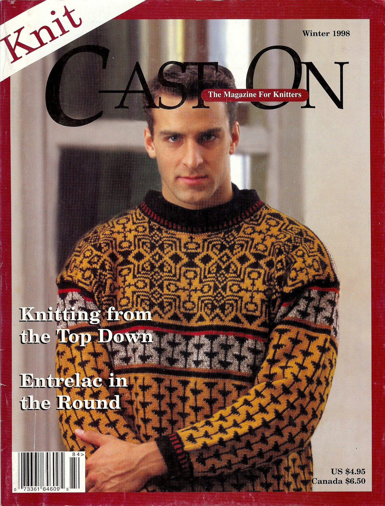 Download Cast On The Magazine for Knitters (Knitting from the Top Down) pdf
