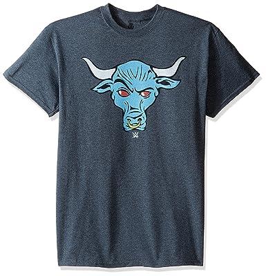 Wwe Mens Rock Brahma Bull T Shirt Amazon Clothing Accessories