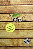 Oskri Coconut Original with Dark Chocolate, 0.88-Ounce Bars (Pack of 40)