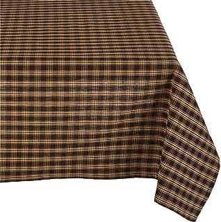 Bon Black Sturbridge Table Cloth 54 X 54