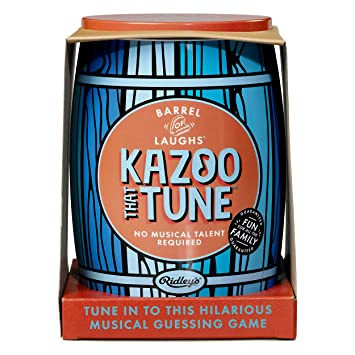 324efacbca0 Ridley's | Barrel of Laughs | Kazoo That Tune Game | Guess the Tunes ...