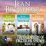 The Gallaghers of Sweetgrass Springs Boxed Set Two: Books 4-6: Texas Heroes
