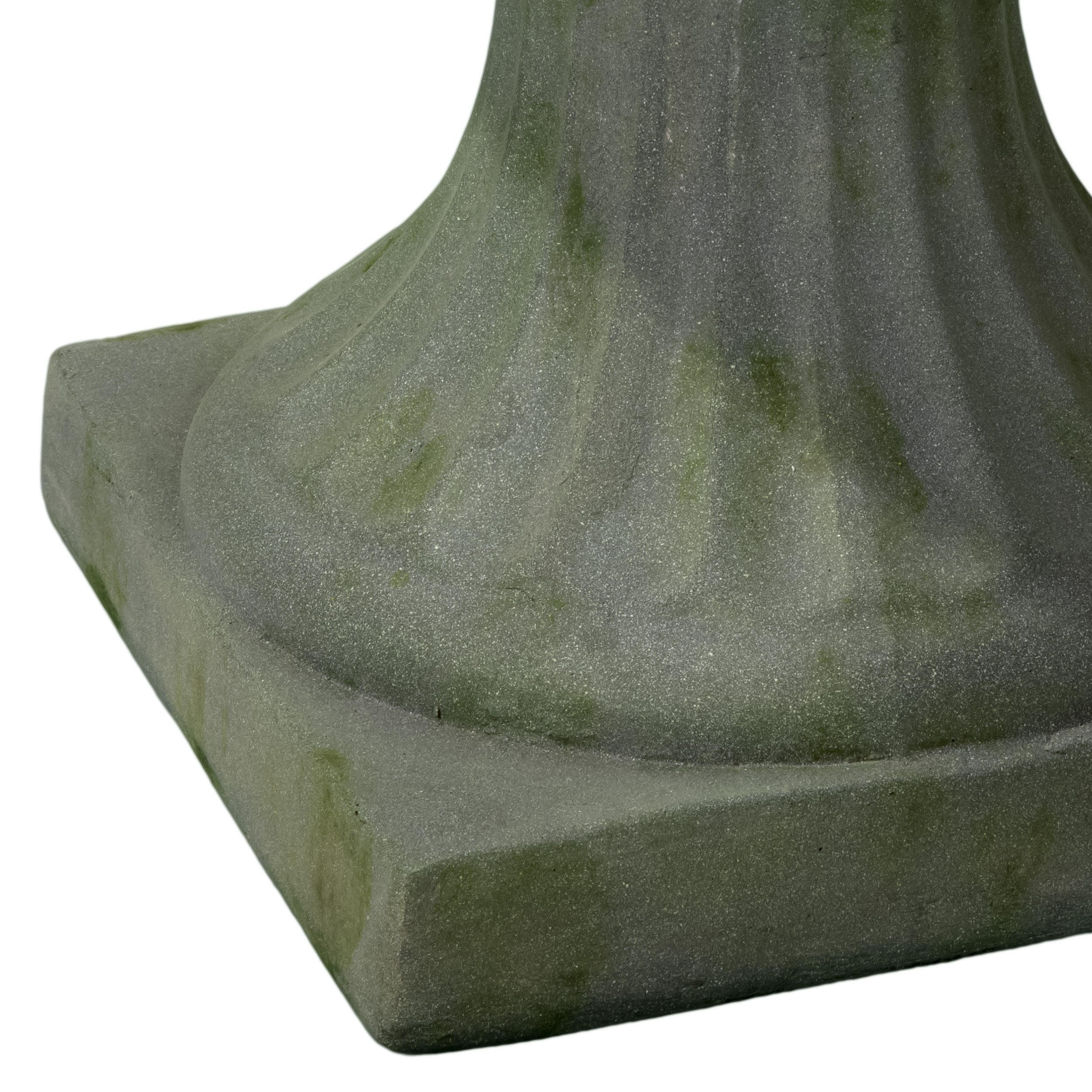 Best-selling Naples Moss Urn Planter, 22.5-Inch, Grey with Green