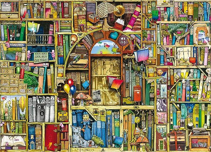 Ravensburger Colin Thompson - The Bizarre Bookshop 2, 1000 piece Puzzle: Amazon.de: Spielzeug