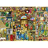 Ravensburger Bizarre Bookshop 2 1000 Piece Jigsaw Puzzle for Adults – Every piece is unique, Softclick technology Means…