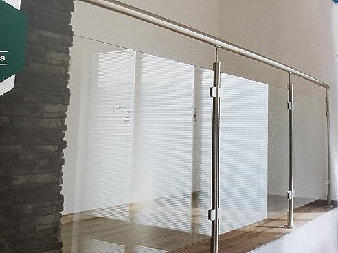 Bayram® Preis/modul Ganzglasgeländer Glasgeländer Balkongeländer  Terrassengeländer Für VSG Glas (80)