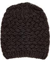 Noble Mount Mens Basket Weave Winter Hat