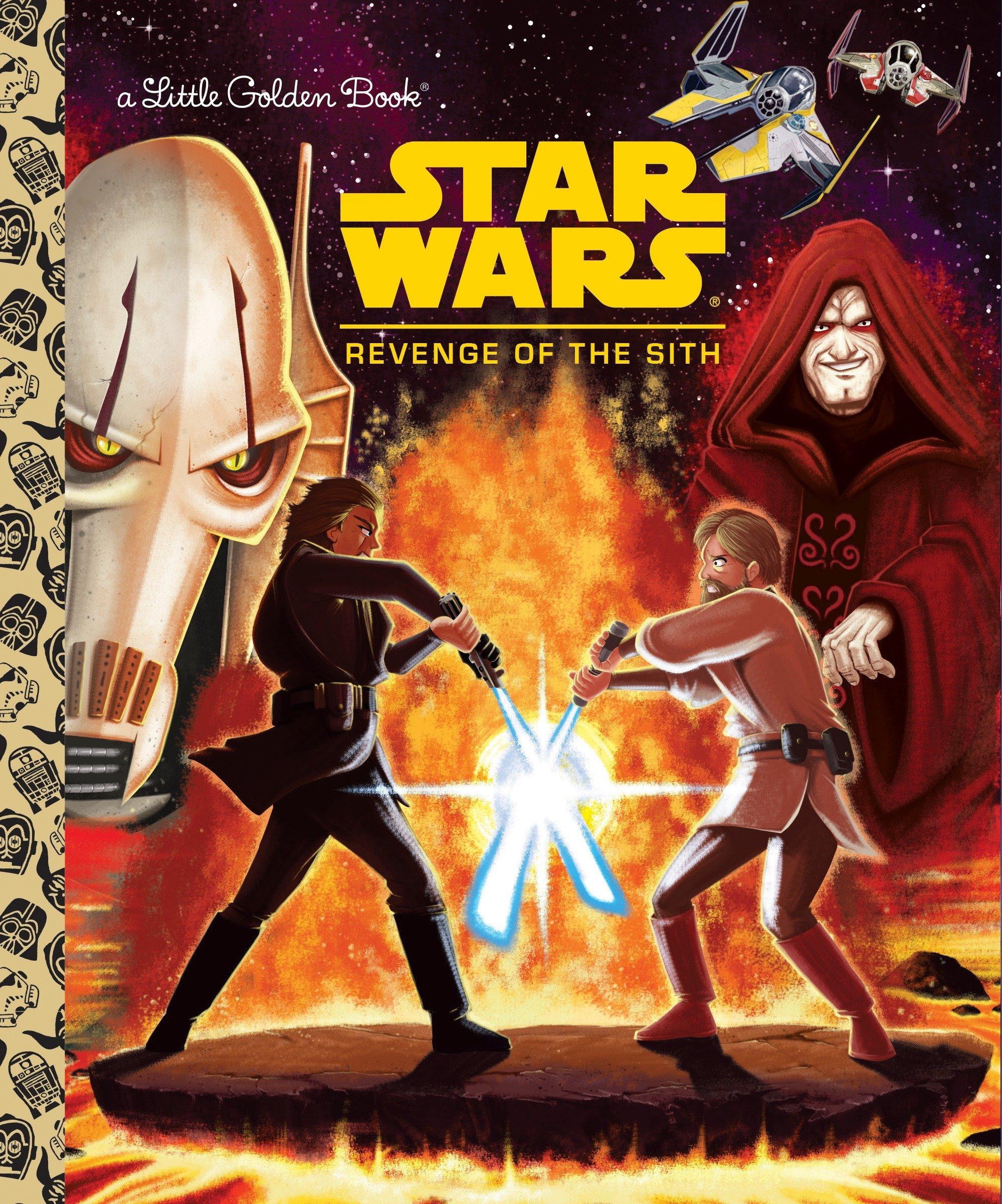 Star Wars Revenge Of The Sith Star Wars Little Golden Book Smith Geof Spaziante Patrick 9780736435406 Amazon Com Books