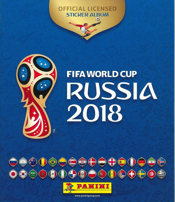 Panini- Mundial Rusia 2018 Álbum (003497AE): Amazon.es: Juguetes y juegos