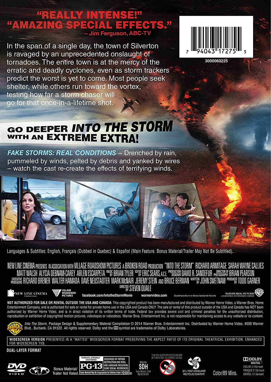 Into the Storm [USA] [DVD]: Amazon.es: Richard Armitage ...