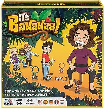 Its Bananas! The Monkey Game para niños, Adolescentes y Adultos Tipsy: Amazon.es: Juguetes y juegos