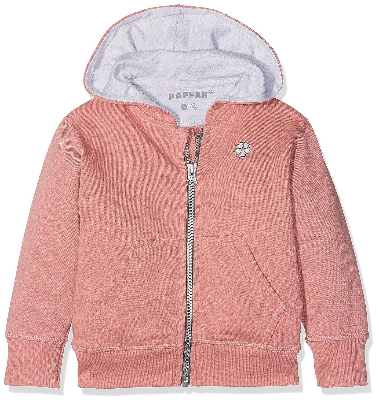 Papfar Baby Girls Sweat Kapuzenjacke GOTS-Zertifikat Cardigan