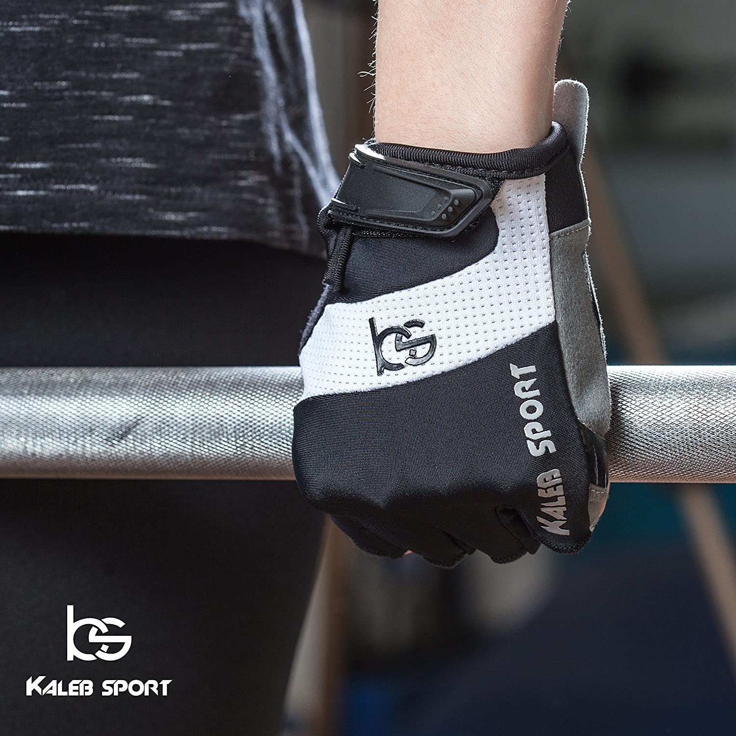 Suitable for Both Men /& Women Improved Ventilation Gym Workout Great for Rowing Kayaking Kaleb Sport Universal Gloves with Special Rubber Coating for Non-Slip Grip