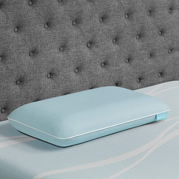 TEMPUR-ProForm + Cooling ProHi Pillow, Memory Foam