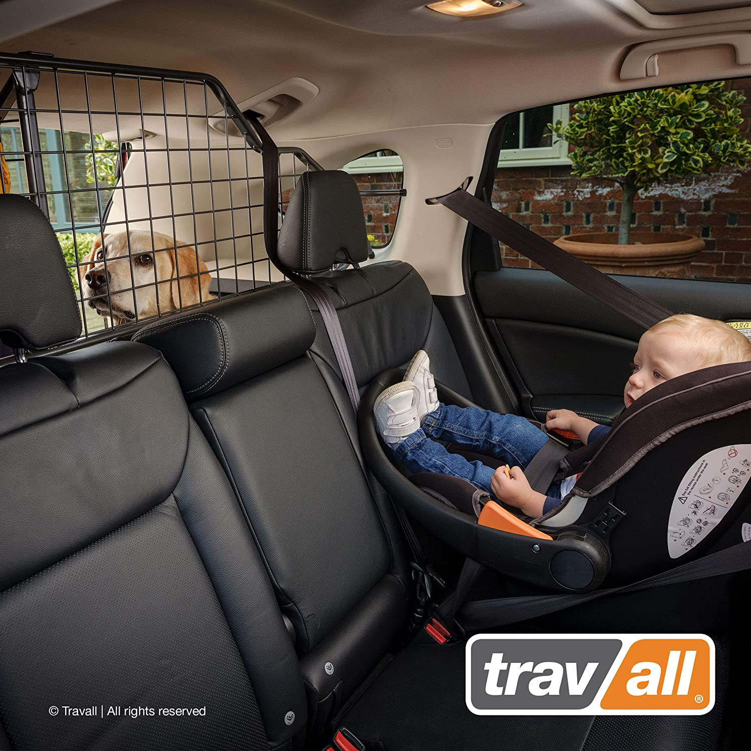 Travall Guard TDG1530 Vehicle-Specific Dog Guard