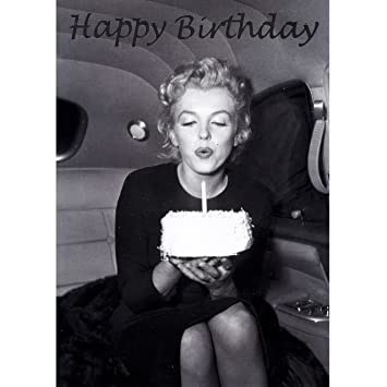 Butlers Card Happy Birthday Marilyn Monroe Amazon Office