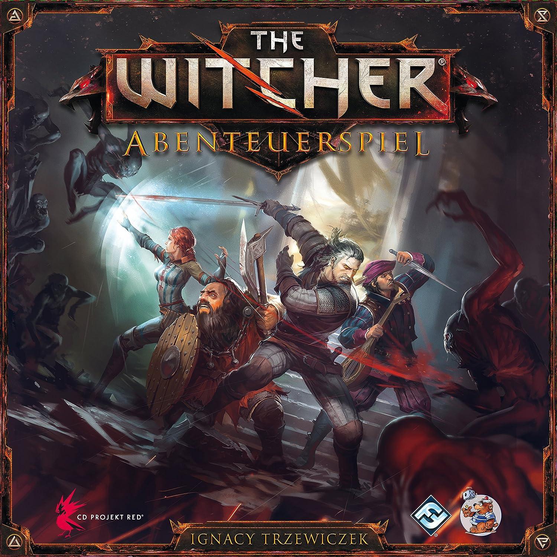 Heidelberger Spieleverlag - The Witcher, Aventura, de 2 a 4 Jugadores (HE595) (versión en alemán): Amazon.es: Juguetes y juegos