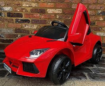 Kids Lamborghini Aventador Style Roadster 12v Battery Electric Ride