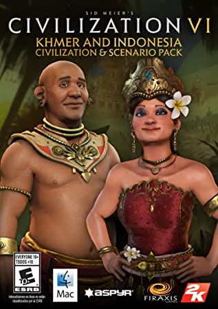 Sid Meier's Civilization VI - Khmer and Indonesia Civilization & Scenario Pack [Mac] [Online Game Code]