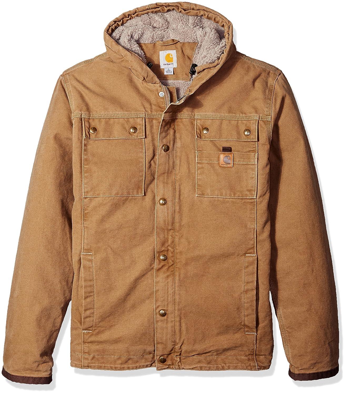 カーハート メンズビッグ&トール バートレットジャケット frontier brown XL XLfrontier brown B01BULSBFI