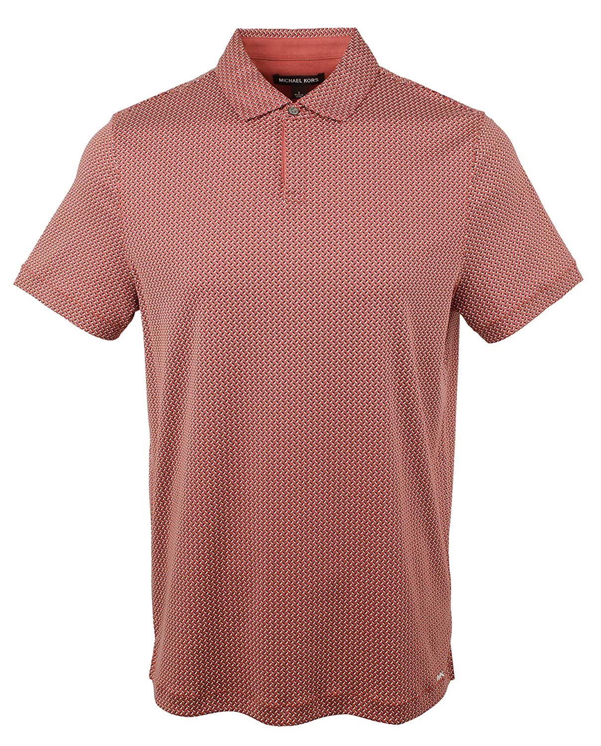 Michael Kors Mens Printed Interlock Polo Shirt-SR-S: Amazon.es ...