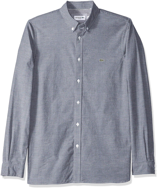 Amazon.com: Lacoste - Camisa Oxford de manga larga para ...