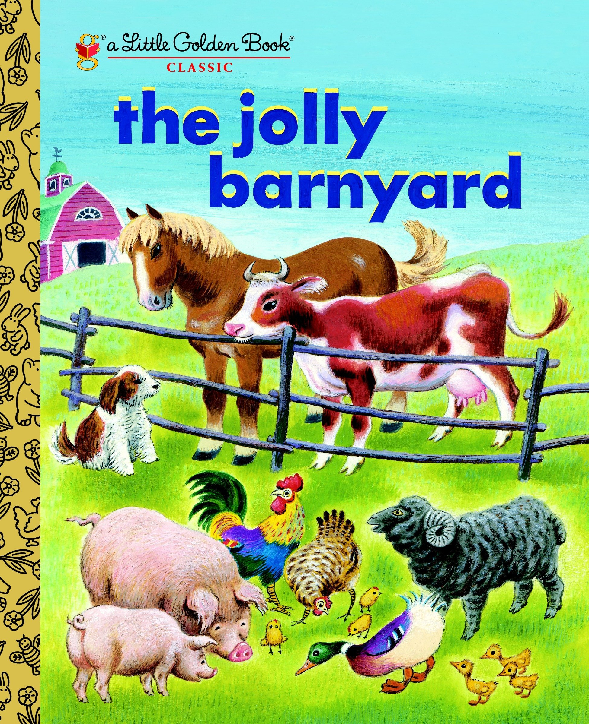Download The Jolly Barnyard (Little Golden Book) PDF
