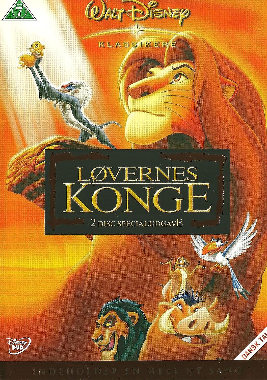 Dejlig The Lion King / Løvernes Konge - 2 Disc Edition: Amazon.co.uk: Don ST-13