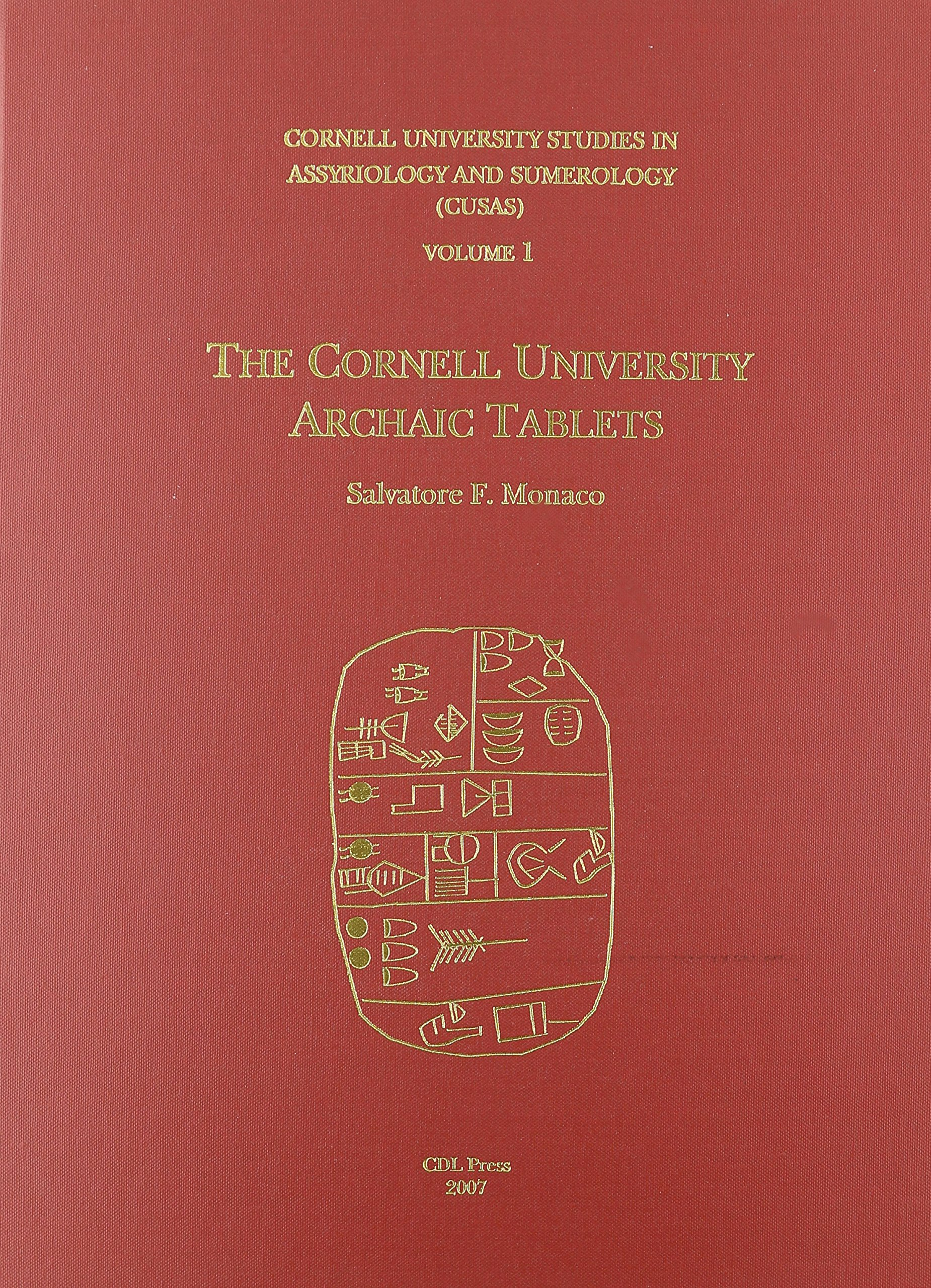 CUSAS 01: The Cornell University Archaic Tablets