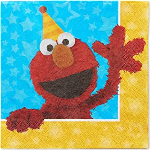 American Greetings Sesame Street Paper Napkins for Kids (16-Count)