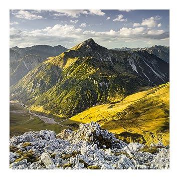 Tapete Berge Und Tal Der Lechtaler Alpen In Tirol Premium Hxb