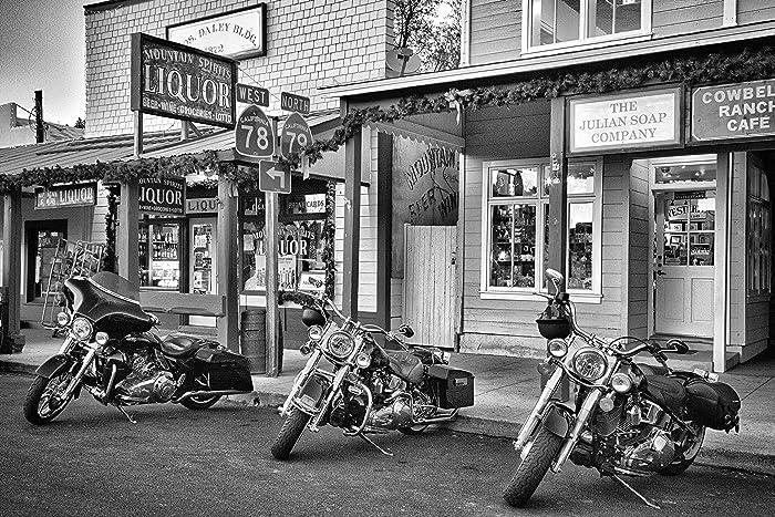 Harley Davidson Art Harley Davidson Gift Boyfriend Gift Man Cave Décor Dad  Gift Garage Art Harley