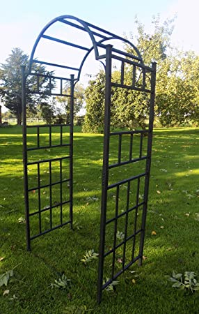 Heavy Duty Metal Garden Arch Garden Archway for Paths Outdoor