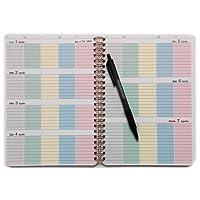 Family planner - Agenda della famiglia - A5 15X21cm - Blocco spirale - Diario della mamma