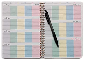 Agenda para Mamás 2018/2019 Family Planner - A5 15x21cm ...