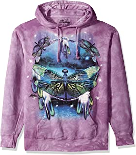 RAINBOW BUTTERFLY DREAMCATCHER ADULT HOODIE SWEATSHIRT THE MOUNTAIN