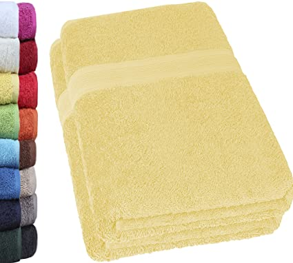 Natural Mark Pack de 2 Toallas de Ducha de 70 x 140 cm, 100%