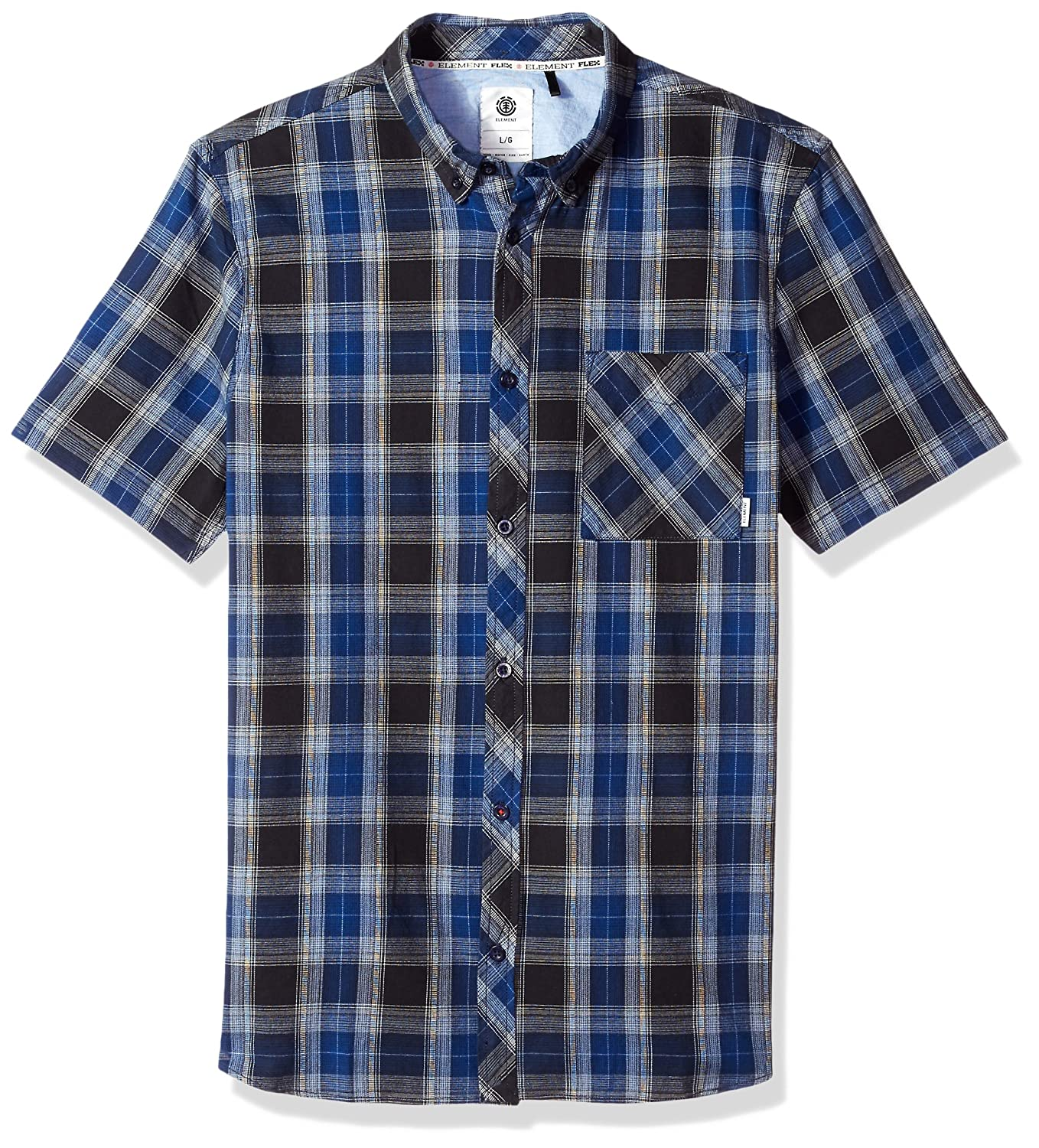 Element SHIRT メンズ B0733VZN26 X-Large|Blue Fade Blue Fade X-Large