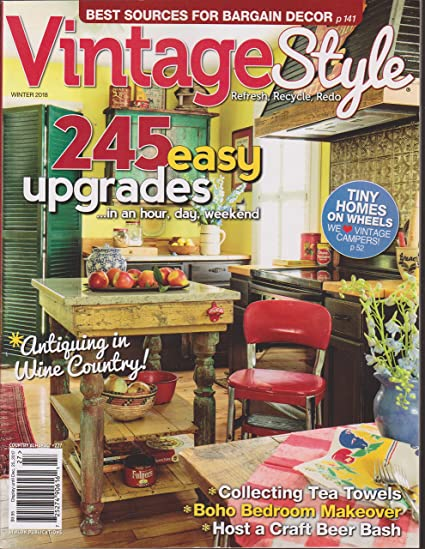 Vintage Style Magazine Winter 2018 Country Almanac #227