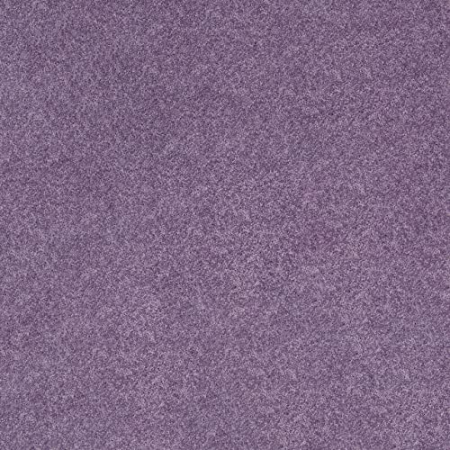 Koeckritz 8 x10 Plum Fab Purple 25.5 oz 1 2 Thick Plush Cut Pile Indoor Carpet Area Rug