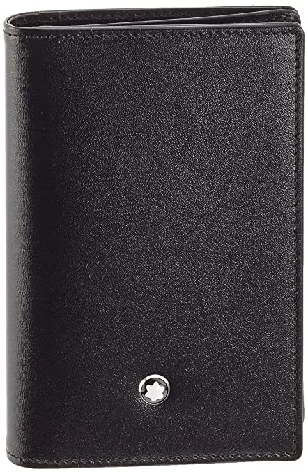 de5650f28198 Image Unavailable. Image not available for. Color  Montblanc Meisterstuck  Business Card Holder 14108
