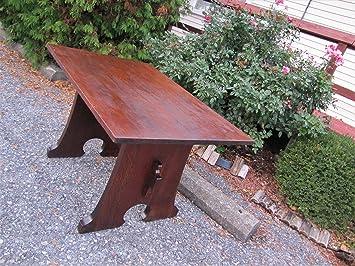 Surprising Amazon Com Antique Ljg Stickley Mouse Hole Table W3039 Lamtechconsult Wood Chair Design Ideas Lamtechconsultcom
